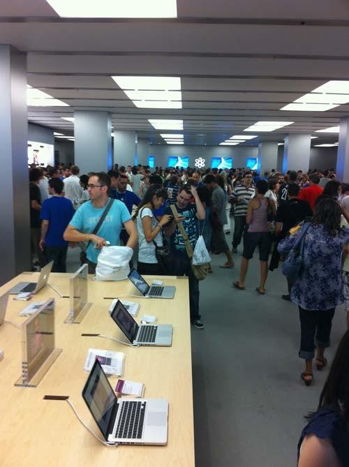 Comprar iphone en tienda apple la maquinista