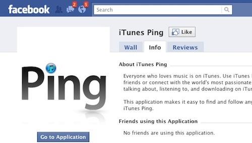 Ping facebook app