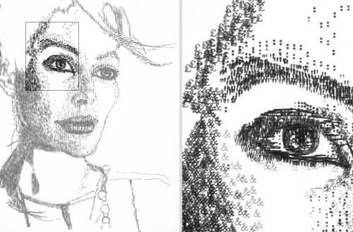 El impresionante arte de Keyra Rathbone usando la máquina de ...