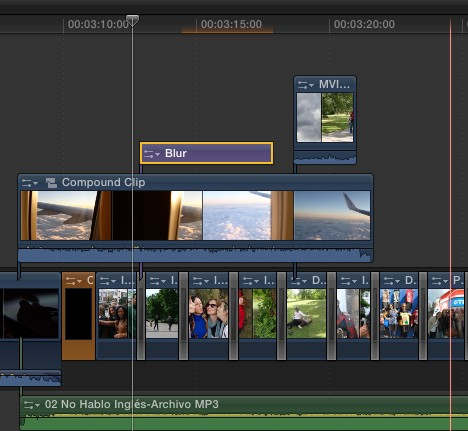Final cut pro x magnetic timeline