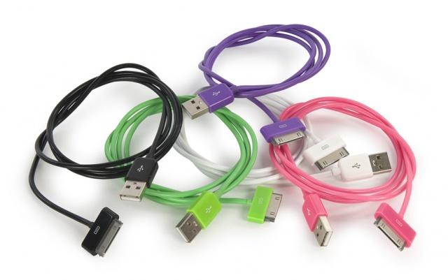 Nuevos cables de colores y cargador para tu iPhone, iPod e iPad de Tucano