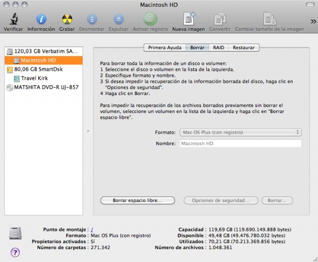 Verbatim SSD SATA III, parte V: cuidado con el borrado seguro de archivos