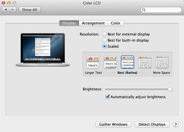 Preguntas y respuestas sobre la pantalla Retina Display del MacBook Pro