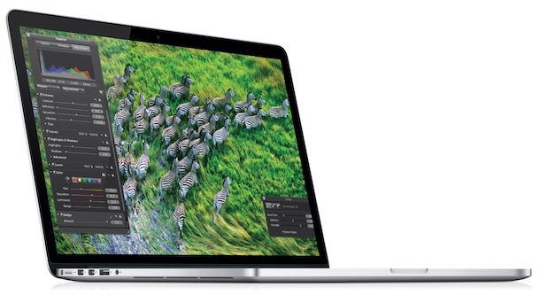 El anuncio del nuevo portátil MacBook Pro con pantalla Retina