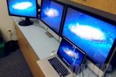 El MacBook Pro Retina puede utilizar hasta tres monitores externos