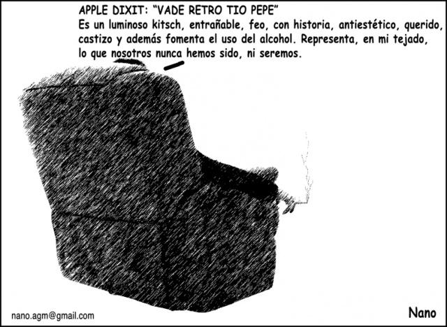 Nanohumor: El tío de Pepe no es el tipo de Apple