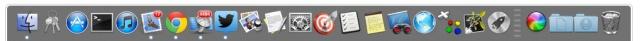 Desactiva la ocultación del Dock en OS X