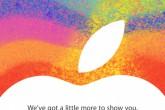 """Apple confirma el evento del 23 de octubre: """"Tenemos un poco más que mostrarte"""""""