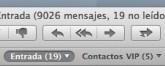 OS X 10.8 Mountain Lion: Usa atajos de teclado para acceder a tus buzones favoritos en Mail