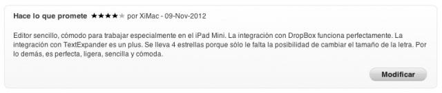 El Gran iPad Mini, parte V: seleccionando aplicaciones