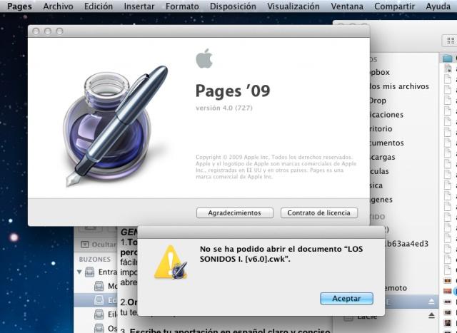 La última actualización de Pages añade compatibilidad con archivos de ClarisWorks