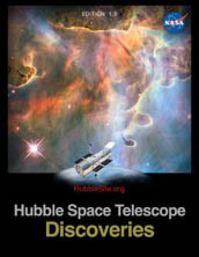 Los descubrimientos del telescopio Hubble, el libro