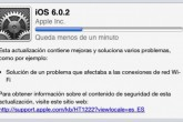 Apple lanza iOS 6.0.2 para el iPhone 5 y el iPad Mini