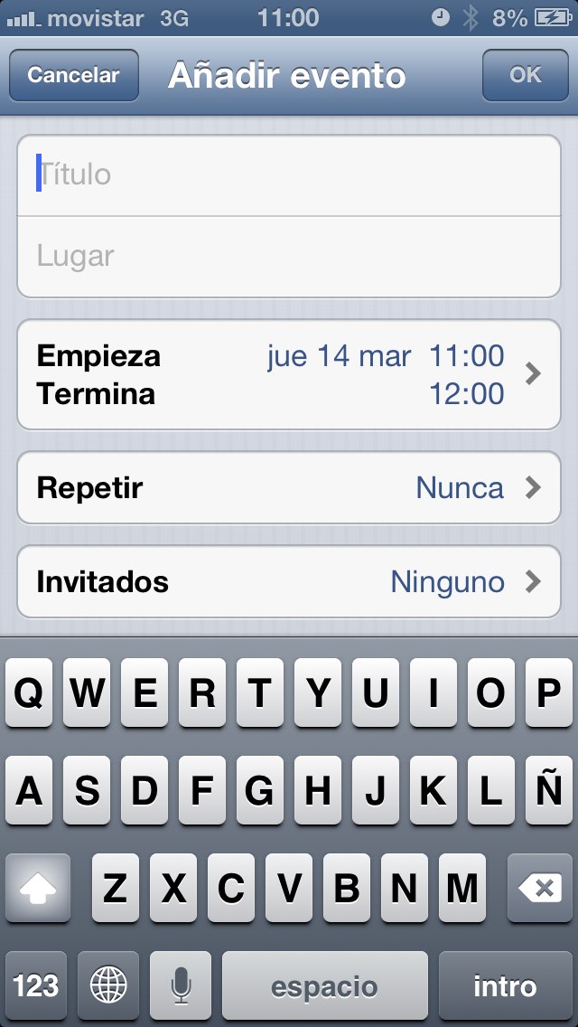Recordatorios en iOS, el calendario simplificado