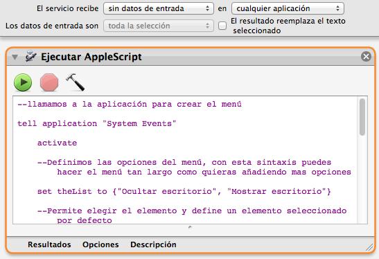 OS X: Ocultar nuestro desorganizado escritorio – Faq-mac