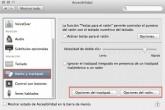 OS X 10.9 Mavericks: ¿Dónde ajusto la velocidad de desplazamiento del ratón o trackpad?