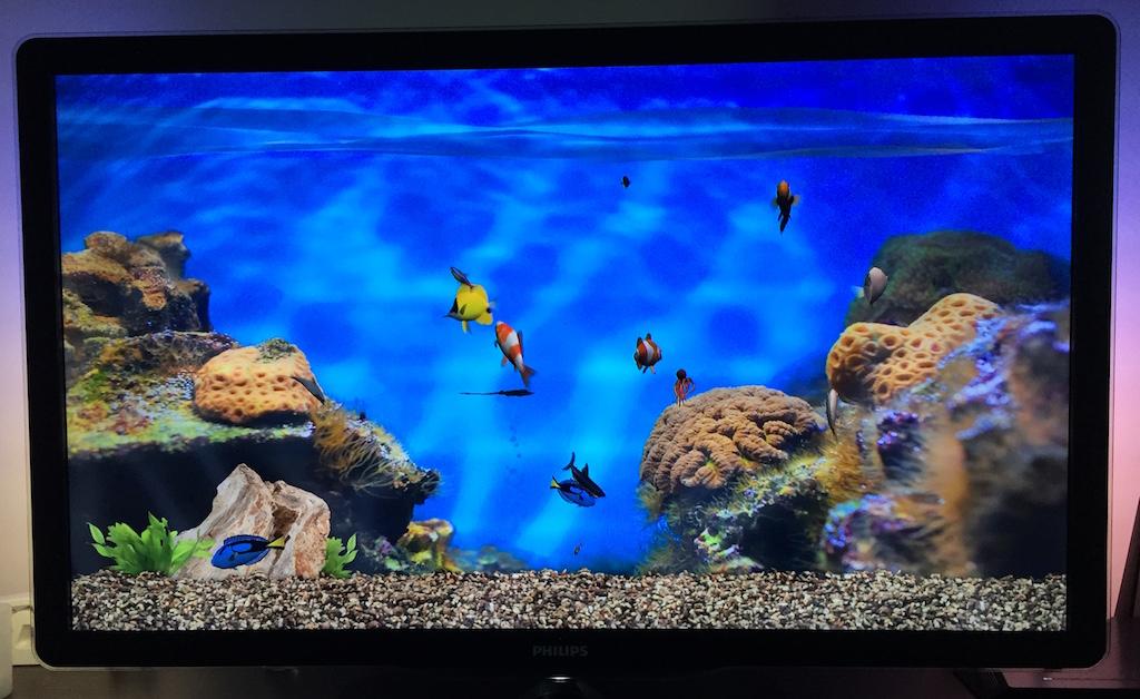 Quieres un acuario en casa si tienes el nuevo apple tv tienes uno faq mac - Acuario en casa ...