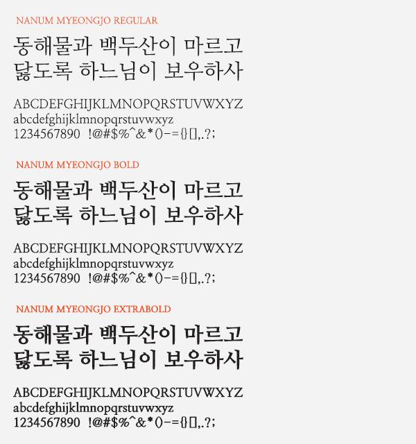 nanum-myeongjo-full