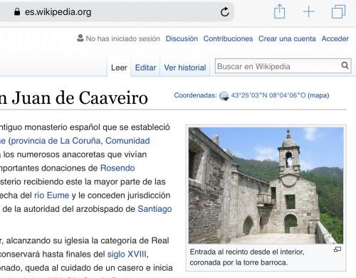 Wikipedia San Juan de Caaveiro