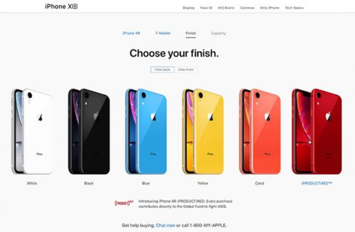 Vamos a repasar algunas de las novedades del iPhone XR