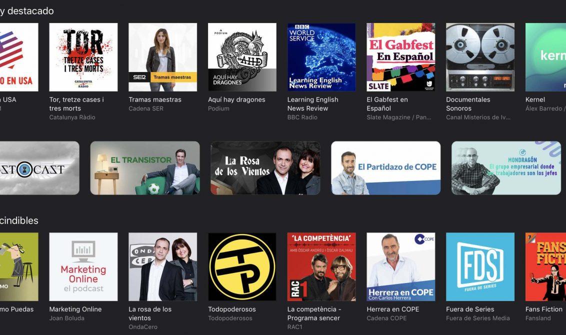 podcasts en itunes