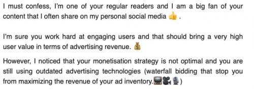 email con emojis