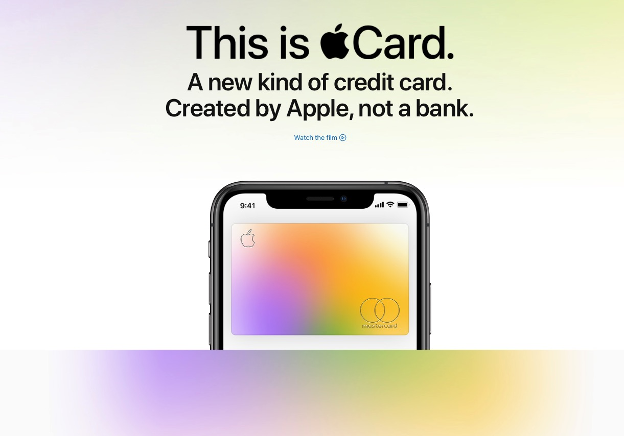 Apple Card virtual