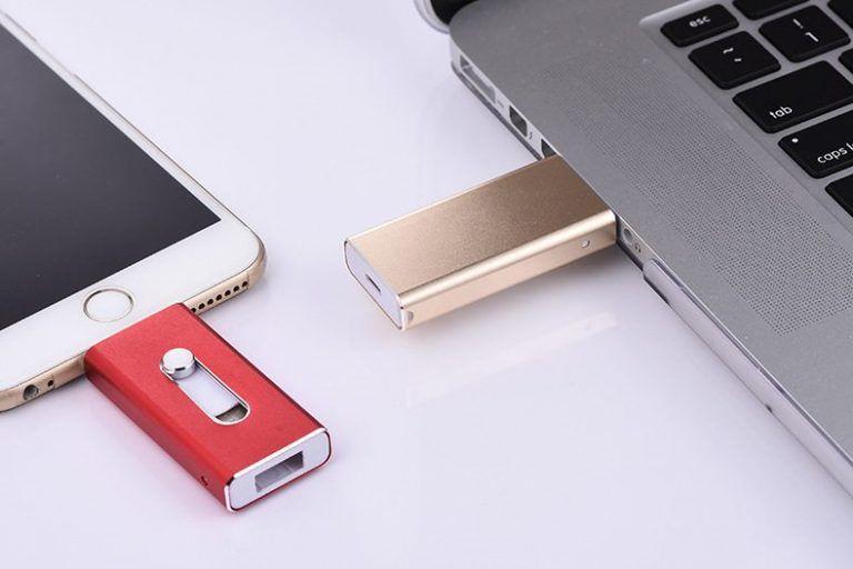 Ampliar almacenamiento iPhone pendrive USB