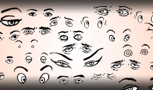 ojos mirada espiar vigilancia