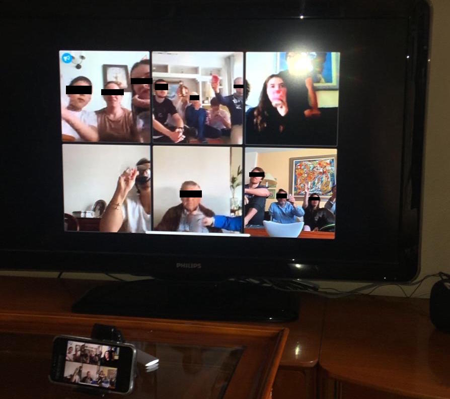 Jitsi Meet en TV usando AppleTV