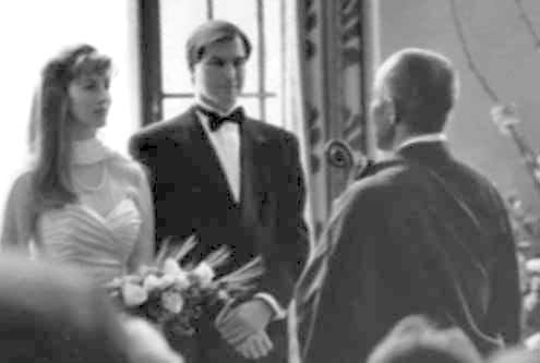 Steve Jobs Laurene POwell ceremonia boda