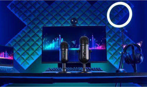 Nuevos micrófonos Razer Seiren V2 Pro y Seiren V2 X